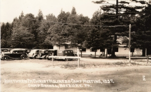 Roxbury Holiness Camp circa 1937