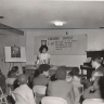 Two Life Line Mission volunteers teach a VBS class in 1968.