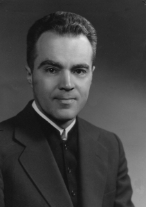 Sam Wolgemuth was one of several Brethren in Christ individuals involved in evangelical institutions beyond the NAE. From 1965-1973, he served as President of Youth for Christ International. (Brethren in Christ Historical Library and Archives)