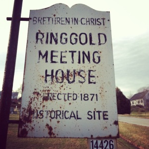 Ringgold-sign